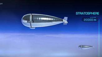 Idean un dirigible estratosférico que sustituye las funciones de un satélite