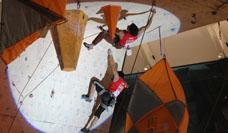 Campeonato de escalada deportiva en Mall Sport