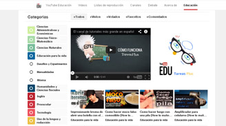 YouTube lanza canal educativo en español