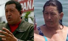 Mujer idéntica a Hugo Chávez es hit en las redes sociales