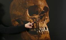 La ciencia reconstruye el último combate del rey Ricardo III... le perforaron el cráneo (sin casco) en el suelo