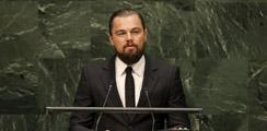 DiCaprio exige a líderes mundiales actuar contra el cambio climático