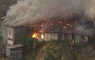 Nuevo incendio en Valparaíso: Dos casas se queman en cerro Cárcel
