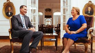 Bachelet pedirá a Merkel y Rajoy renegociar acuerdo con la Unión Europea