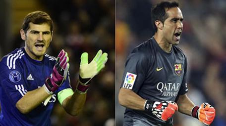 El clásico español: Juicio paralelo para Iker Casillas y Claudio Bravo