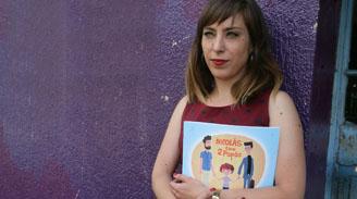 """Leslie Nicholls, psicóloga y """"mamá de Nicolás"""": """"Ningún tema debiese ser tabú para un niño"""""""