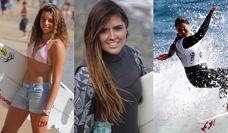 Las tres surfistas top chilenas: Contra el viento y las olas, se imponen las mujeres