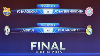 Vidal y Bravo no se topan: Las semis de la Champions son Barcelona-Bayern Múnich y Juventus-Real Madrid