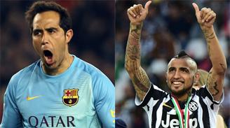 Bravo y la final de la Champions: Vidal se mata por la Juventus, pero espero que no juegue bien