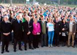 1.200 voluntarios construirán viviendas en Paraguay con el apoyo del Fondo Chile
