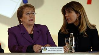 """Bachelet por manifestación de los camioneros: """"Siempre tiene que primar el diálogo, con respeto y flexibilidad"""""""