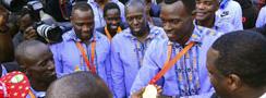 "Atletas kenianos son recibidos como ""héroes"" tras liderar medallero"
