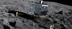 El adiós al robot espacial Philae, posado en un cometa: Científicos cortan contacto
