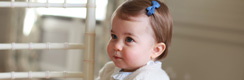 Carlota de Cambridge cumple un año y muestran nuevas fotos de la princesa