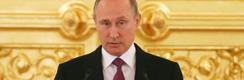 """Putin y exclusión de deportistas rusos de Río: """"La competencia será menos espectacular"""""""